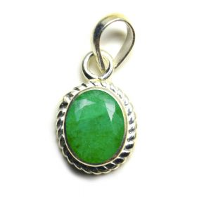 Natural Certified Indian Emerald Oval Shape Panna Pendant Locket 2.25 to 10.25 Ratti