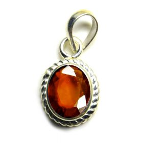 Natural Certified Hessonite Oval Shape Gomed Pendant Locket 2.25 to 10.25 Ratti