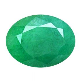 Natural Faceted Oval Emerald Panna Loose Gemstone 2.25 - 8.25 Ratti May Birthstone