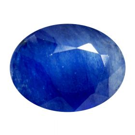 Natural Faceted Blue Sapphire Gemstone 2.25-8.25 Ratti Neelam Oval Cut