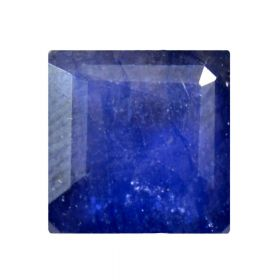 Natural Faceted Blue Sapphire Gemstone 2.25 - 8.25 Ratti Neelam Square Shape