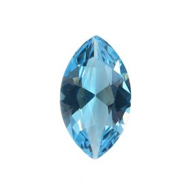 Natural Marquise Shape Faceted Blue Topaz Loose Gemstone 2.25 - 8.25 Ratti Birthstone